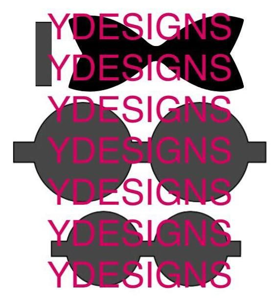 Download Elegant Bow Template SVG, Bow Template, SVG Files, Cricut ...