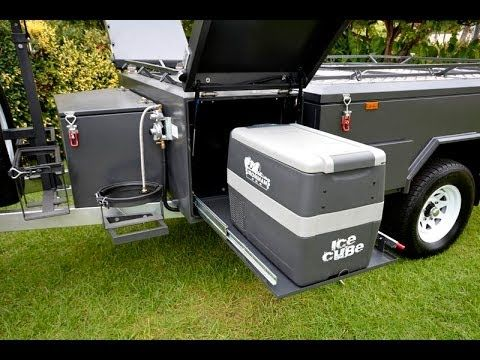 2104 PMX Campers Trail Dueller Off Road Independent Hard floor camper trailer - YouTube