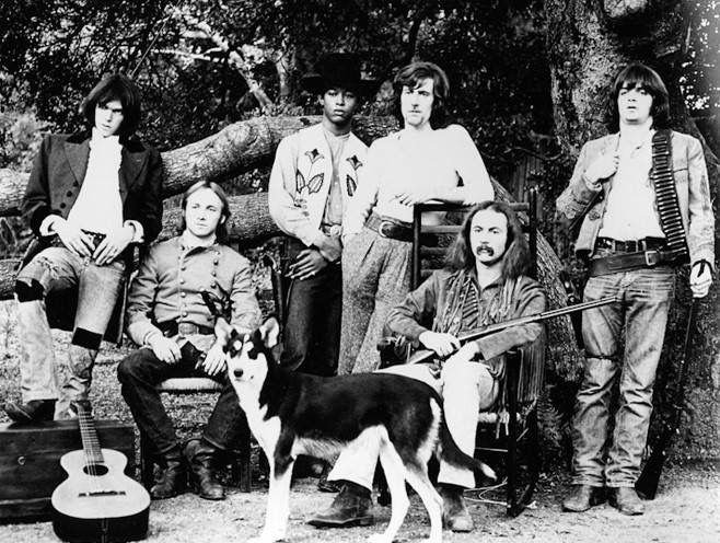 Crosby Stills Nash Young, Dallas Taylor & Gregg Reeves