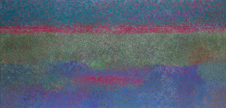 Horizon painting by George Morrison