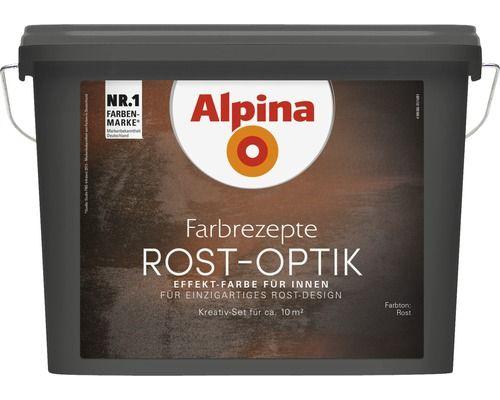 Alpina Effektfarbe Rost Optik Komplett-Set inkl. Alpina Bürste bei HORNBACH kaufen