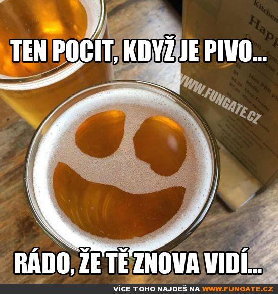 Ten pocit, když je pivo…