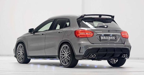 Com A Brabus Mercedes Gla 45 Amg Passa A 400 Cv Mercedes Gla