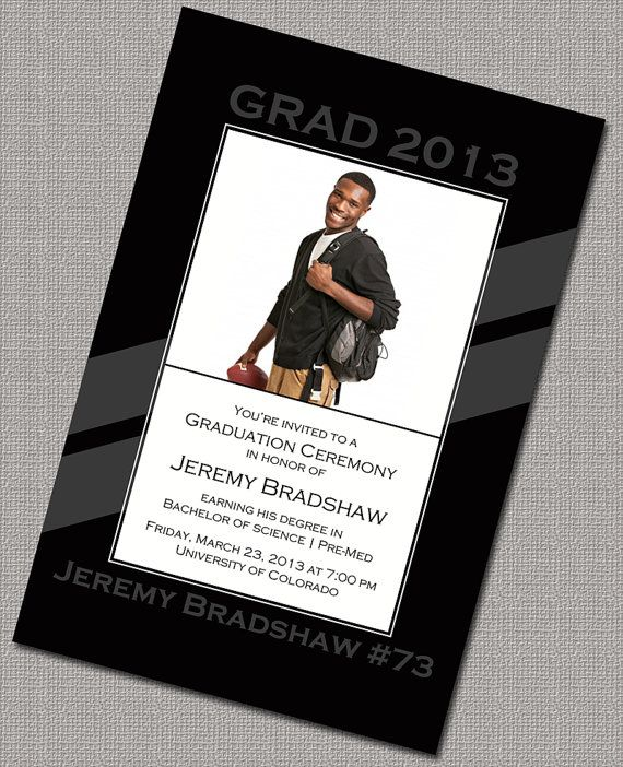 2013 Graduation Invitations, Senior Graduation Invitations, College graduation Invitations