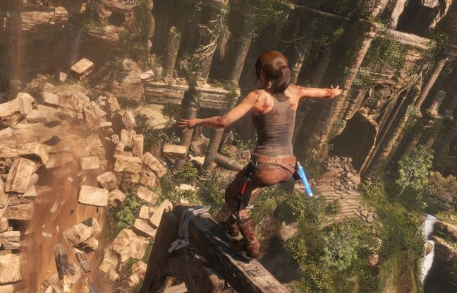 Lara Croft dans le jeu «Rise of the Tomb Raider».
