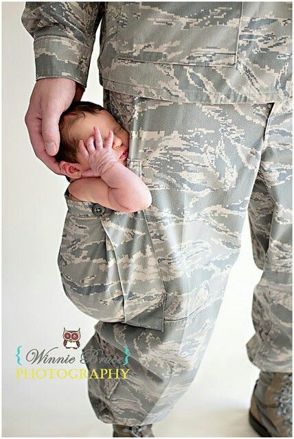 Army Officer Dad Love