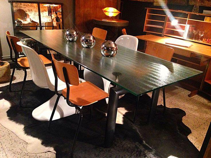 table manger ou bureau mod le lc6 le corbusier edition cassina i maestri 1974 pi ce. Black Bedroom Furniture Sets. Home Design Ideas