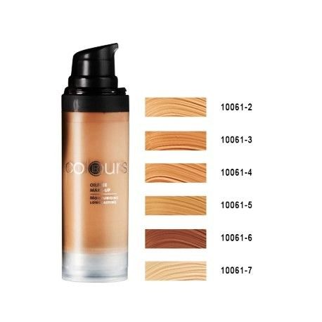 Oilfree Make-up - Fondotinta senza Olio; Con il complesso NMF (Natural Moisture Factor) per bilanciare la naturale idratazione della pelle. A lunga durata, polveri finissime consentono un effetto Matt che dura a lungo. Micropigmenti che riflettono la luce e nascondono le imperfezioni. 30 ML