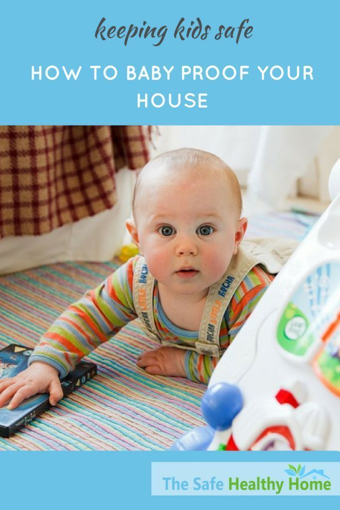 Make sure the little people are safe in your home. This visual guide shows the potential dangers for each age group along with tips for baby proofing your house. Safety first!