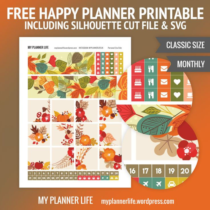 Happy With Printables Calendar : Best free planner stickers and organizers images on