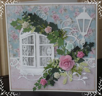 Like the close window with lace idea!