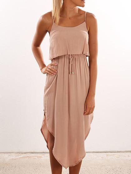 Sexy Halter Off The Shoulder Solid Color Dress is hot sale on Bychicstyle.com, shop cheap DRESSES online.