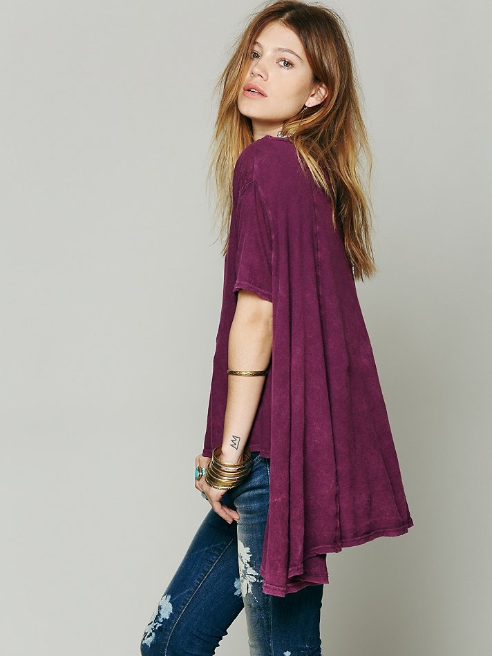 Free People We The Free Circle In The Sand Tee, C80.36