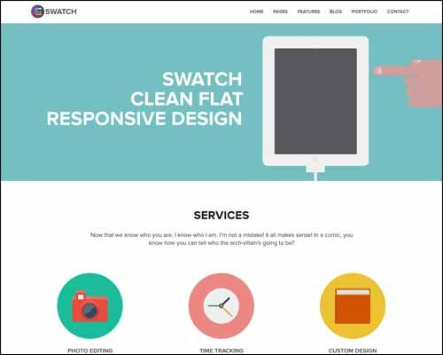 95+ Best Responsive Flat WordPress Themes | Designrazzi
