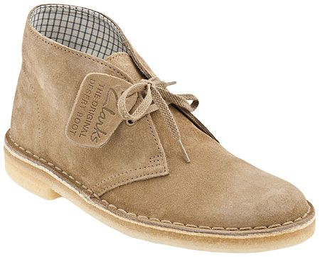 Clarks Originals Desert Women's Classic Suede Ankle Boots (Beeswax Leather)