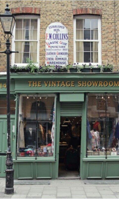 Tienda vintage londres y pinterest shop fronts and store fronts - Boutique vintage londres ...