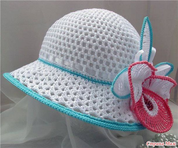 135 best sombreros crochet images on Pinterest | Sombreros de ...