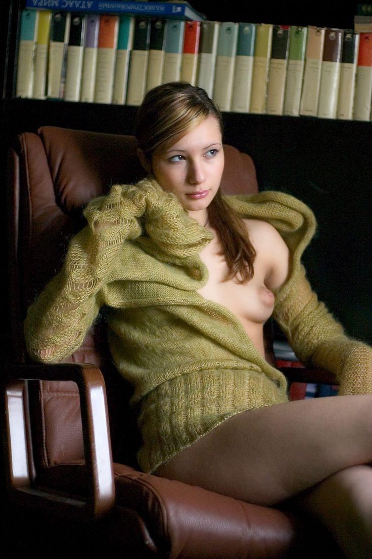 Kim sex hairy pussy angora sweater