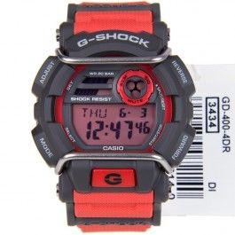GD-400-4 GD-400 Casio G-Shock with Face Protector Quartz Digital Sports Watch
