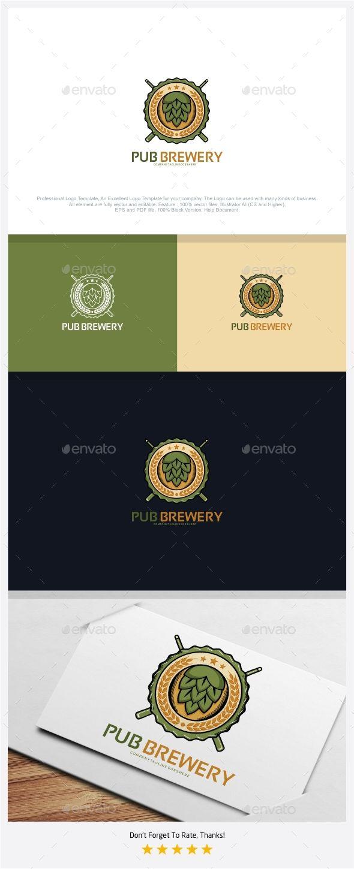 Pub Brewery Logo