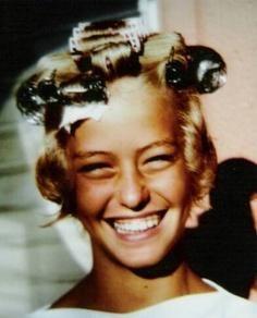 10 years old Farrah Fawcett ~ 1957
