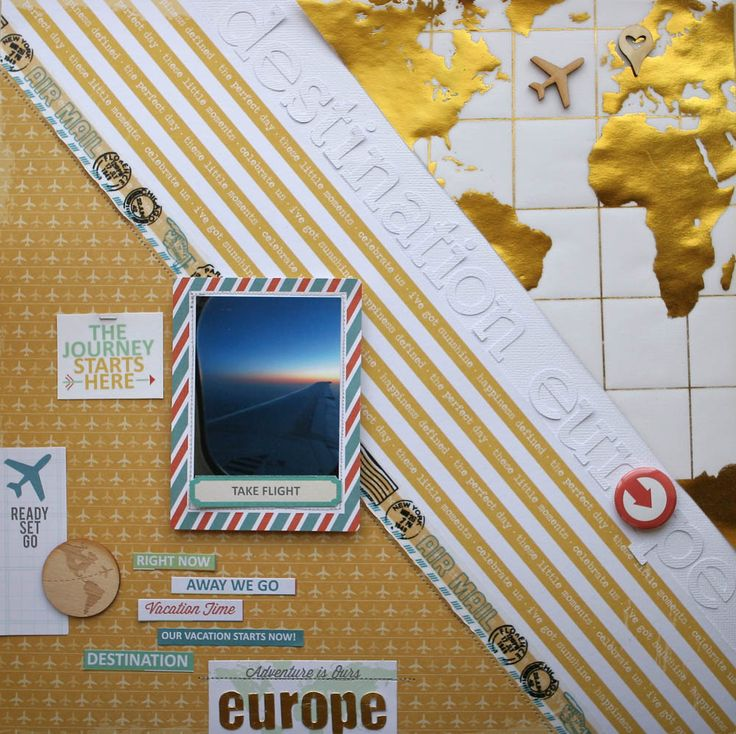 1000 Images About Vacation Amp Travel Scrapbooking On Pinterest