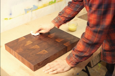 HOW TO BUILD AND MAINTAIN A CUTTING BOARD    A tutorial from Nils Wessel of Brooklyn Butcher Blocks