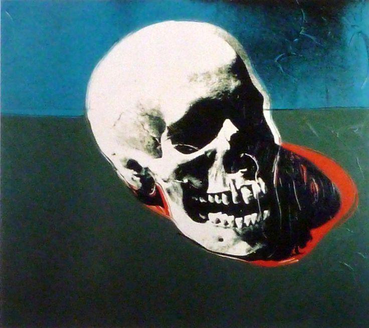 Andy WARHOL Skull 1976                                                       …                                                                                                                                                                                 Plus
