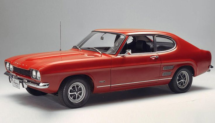 1968-1973 FORD Capri Mk I 3000. My dad has owned a lot of fast and sleek cars…