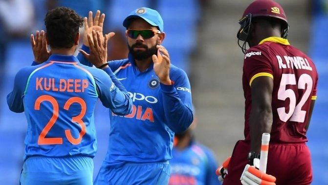 West Indies vs India 4th ODI Live Streaming Cricket Match, July 02, 2017. WI vs IND Fourth match live telecast tv channels info, score, preview, prediction
