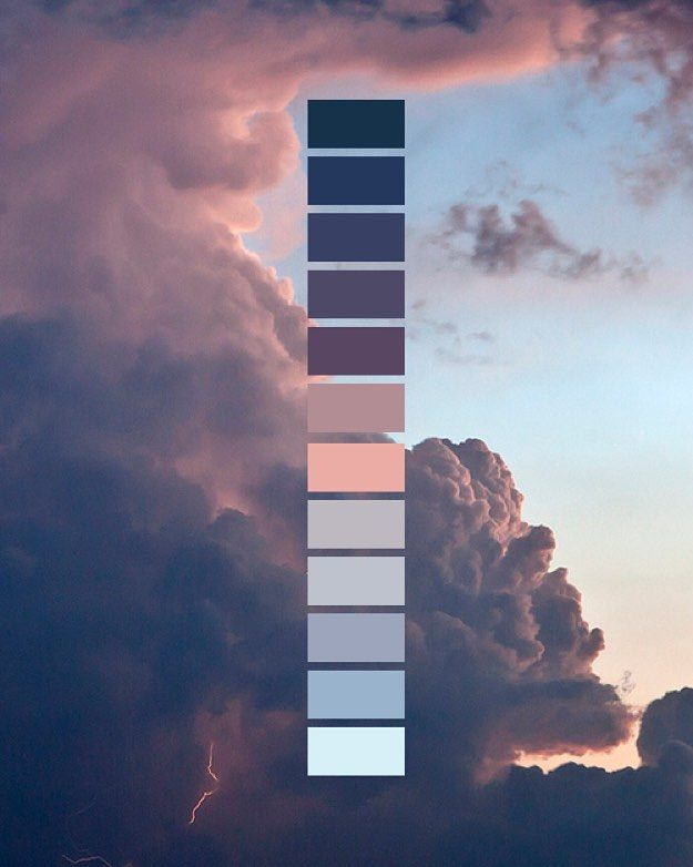 So many shades of nature. #colors #colorful #organized #sky #palette #nature #branding by notyourkids