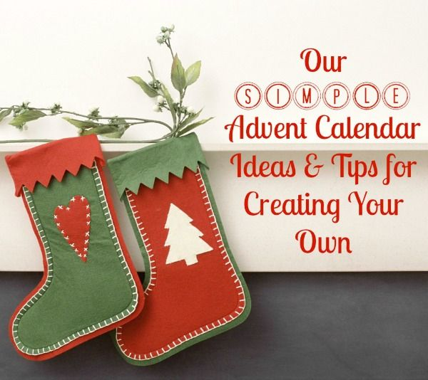 Top picks for Christmas Advent Calendar ideas your family will love! DIY Advent Calendars, Store Bought Advent Calendars, and RACKS Advent Ideas too.