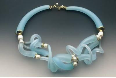 Secret Life of Jewelry - A Universe of Handcrafted Art to Wear: Graceful Glass - Joyce Roessler Jewelry