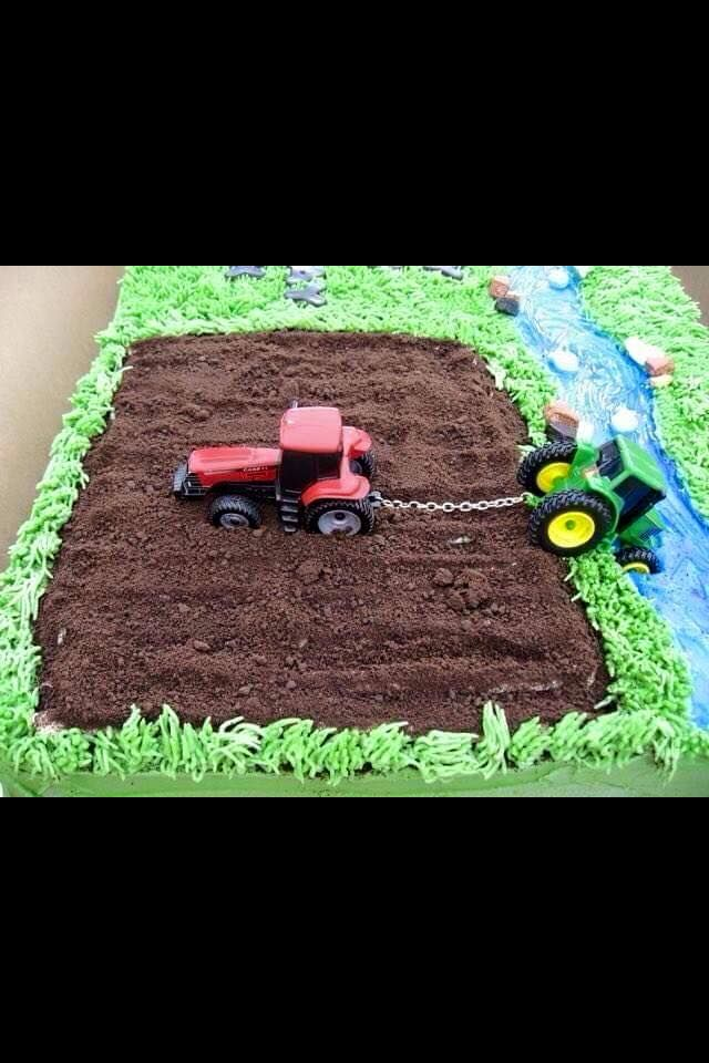 Tractor Birthday cake                                                                                                                                                                                 More