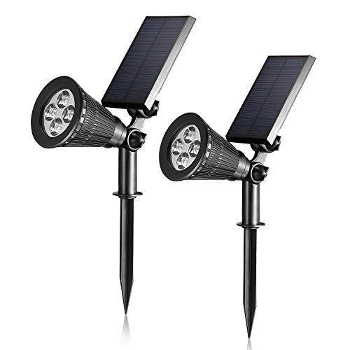 Oferta: 29.99€. Comprar Ofertas de Liqoo® 2W 5V Focos LED Lámpara Solar de Jardín de Pared Impermeable sin Cable Blanco Cálido 3000K Spotlight Detector del Sens barato. ¡Mira las ofertas!