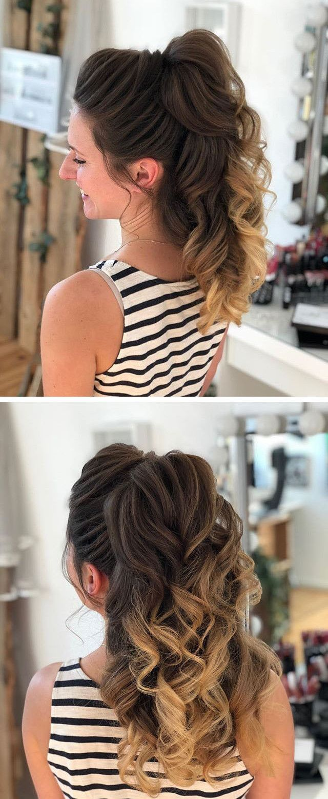 Pony Tail Braided Hairstyles Hair Styles Womens Hairstyles Easy Hairstyles