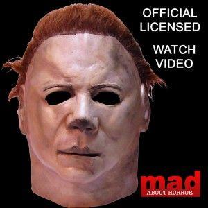 Michael Myers Halloween 2 Latex Mask