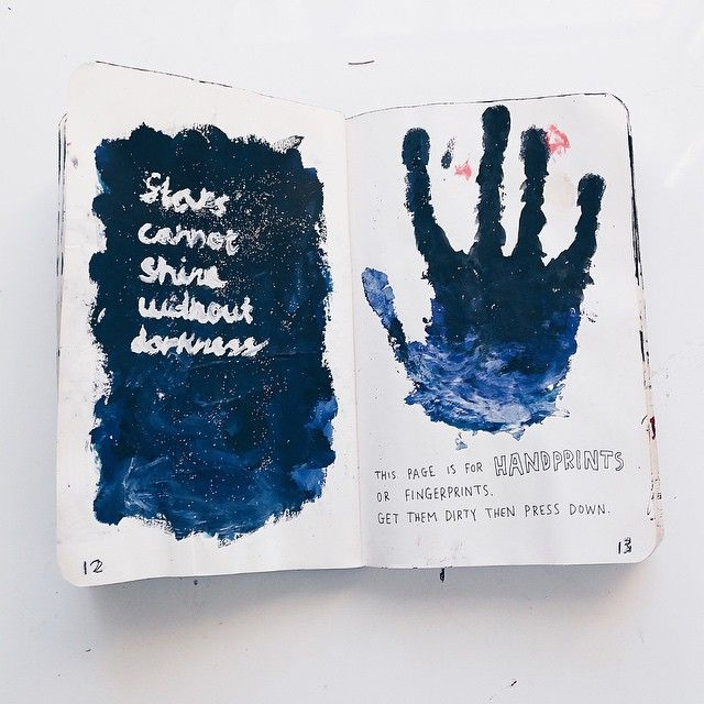 my favorites pages from my wreck this journal!