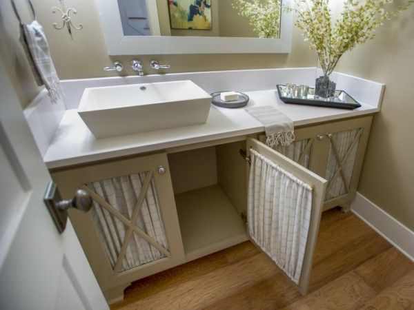 Excellent French Country Bathroom Decorating with Sheer White ...