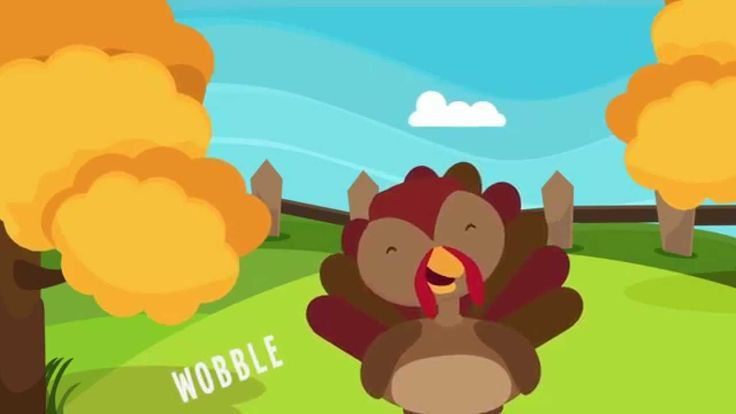 """""""Turkey is a Silly Bird"""" is a simple and fun Thanksgiving song for preschool and kindergarten children. Kids will enjoy singing and dancing along to the #thanksgiving song!"""