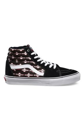Vans Sk8 Hi Indy Black - Fuel Clothing