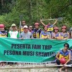 Bloger Dunia, Kunjungi Wisata Cuhup Tenang Bedegung
