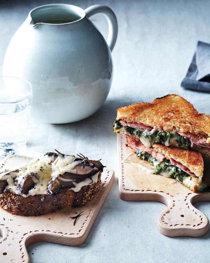 Grilled Ham and Broccoli Rabe Sandwich - Martha Stewart