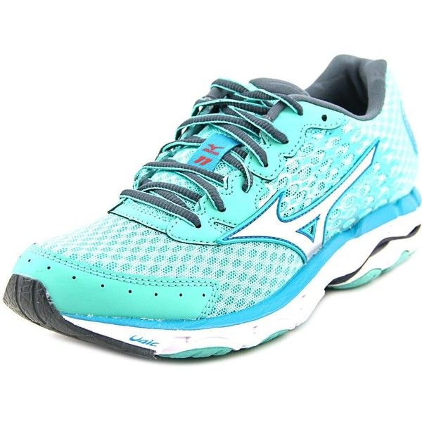 Mizuno Wave Inspire 11 Women Running ($96) ❤ liked on Polyvore featuring shoes, athletic shoes, silver shoes, light weight running shoes, mizuno, lightweight running shoes and mizuno shoes