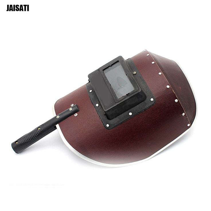 JAISATI Welding mask classical hand - held welding protective masks anti - splashing high temperature masks