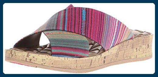 Life Stride Positive Damen US 6.5 Rosa Keilabsätze Sandale - Sandalen für frauen (*Partner-Link)