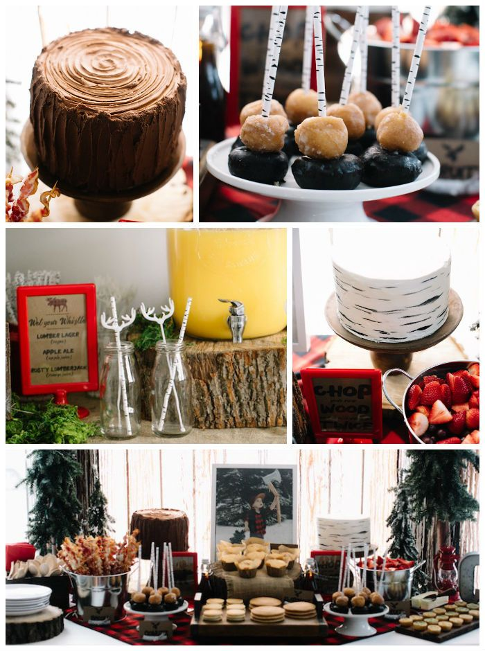 Details + Decor Little Lumberjack Birthday Party via Kara's Party Ideas | The Place for All Things Party KarasPartyIdeas.com (2)