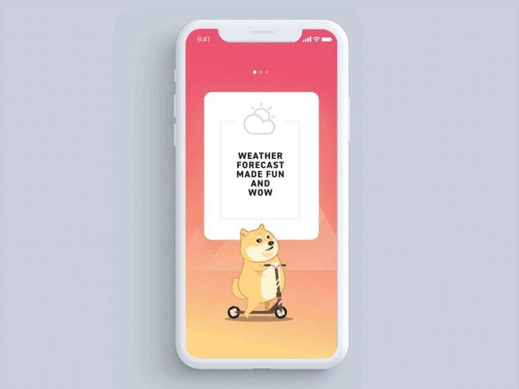 Doge Weather App - Walkthrough by Minh Pham