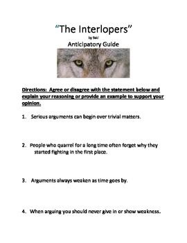 vocabulary for the interlopers Study flashcards on the interlopers vocabulary words at cramcom quickly memorize the terms, phrases and much more cramcom makes it easy to get the grade you want.