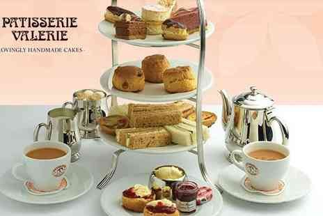 Patisserie Valerie - afternoon tea for two - Only £19